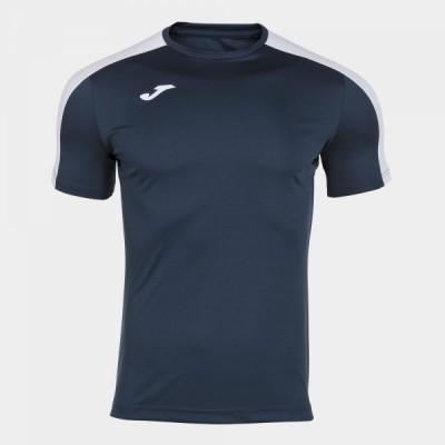 Футболка игровая Joma темно-синяя с белыми вставками ACADEMY 101656.332