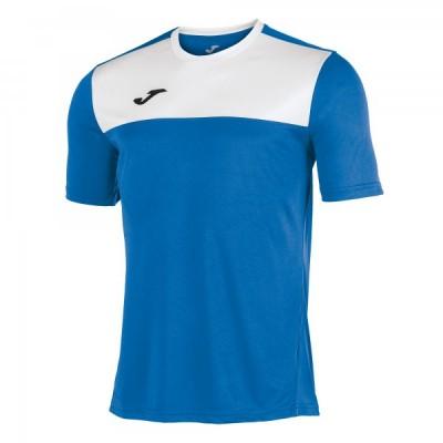Футболка игровая Joma синяя с белыми вставками WINNER 100946.702