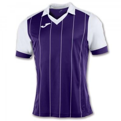 Футболка игровая Joma с фиолетовыми и белыми полосками GRADA 100680.552