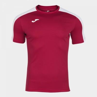 Футболка игровая Joma красная ы белыми вставками ACADEMY 101656.602