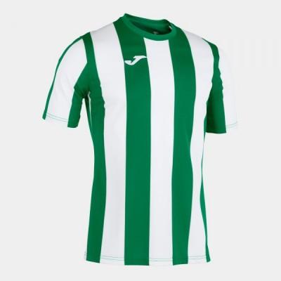 Футболка игровая Joma с зелеными и белыми полосками INTER 101287.452