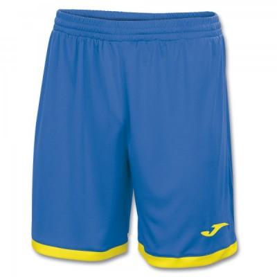 Шорты Joma TOLEDO 100006.709 синие с желтыми вставками