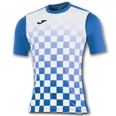 Футболка игровая Joma с рисунком в синюю и белую клетку FLAG 100682.702