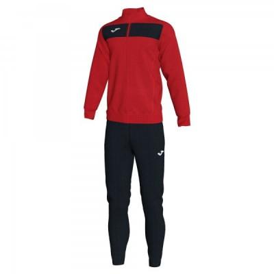 Спортивный костюм Joma ACADEMY II 101352.601 красный с черными брюками