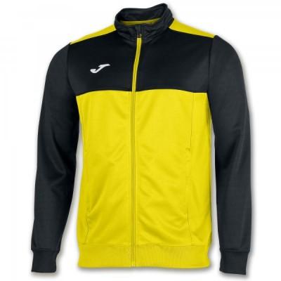 Спортивная кофта Joma WINNER 101008.901 желтая с черными вставками