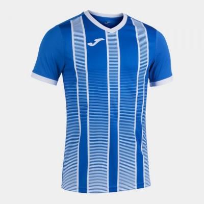 Футболка игровая Joma синяя с белым TIGER II 101464.702