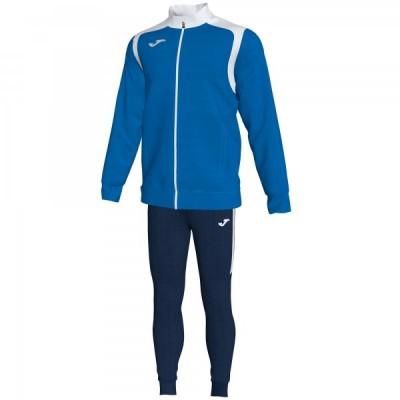 Спортивный костюм Joma CHAMPION V 101267.702 синяя кофта с белыми вставками и темно-синие брюки