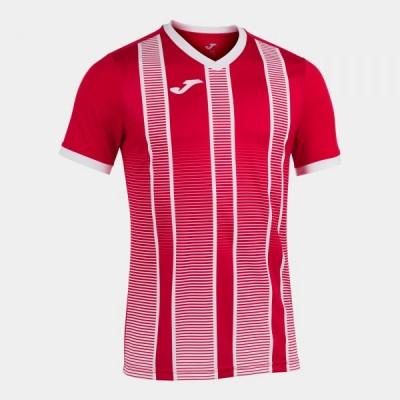 Футболка игровая Joma красная с белым TIGER II 101464.602