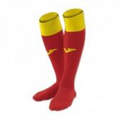 Гетры Joma CALCIO 400022.609 цвет красный и желтый