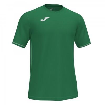 Футболка игровая Joma зеленая CAMPUS III 101587.450