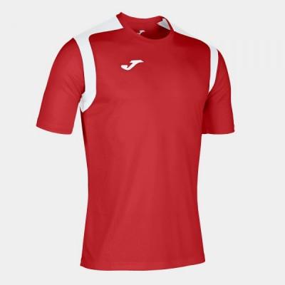 Футболка игровая Joma красная с белыми вставками CHAMPION V 101264.602