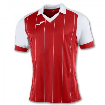 Футболка игровая Joma с красными и белыми полосками GRADA 100680.602