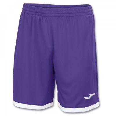 Шорты Joma TOLEDO 100006.550 фиолетовые с белыми вставками