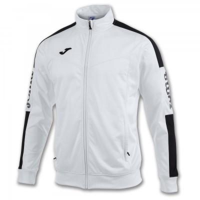 Спортивная кофта Joma CHAMPION IV 100687.201 белая с контрастными черными вставками