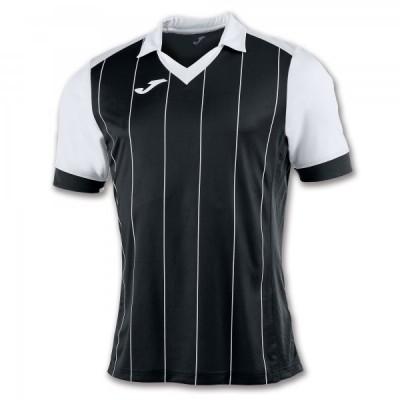 Футболка игровая Joma с черными и белыми полосками GRADA 100680.102