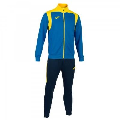 Спортивный костюм Joma CHAMPION V 101267.709 синяя кофта с желтыми вставками и темно-синие брюки
