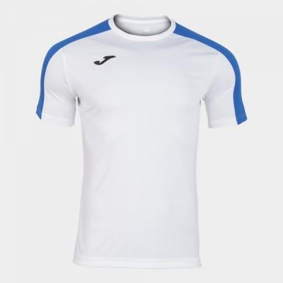 Футболка игровая Joma белая с синими вставками ACADEMY 101656.207