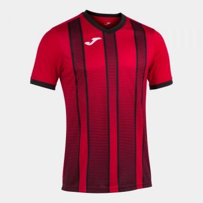 Футболка игровая Joma красная с черным TIGER II 101464.601