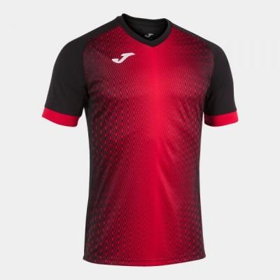 Футболка игровая Joma черная с красным SUPERNOVA 101284.106