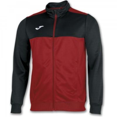 Спортивная кофта Joma WINNER 101008.601 красная черными вставками