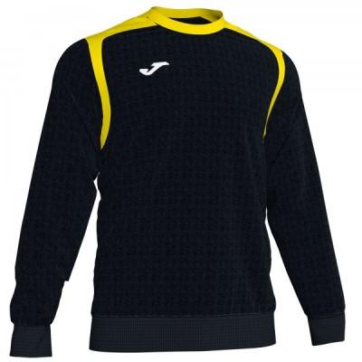 Толстовка Joma CHAMPION V 101266.109 черная с желтыми вставками