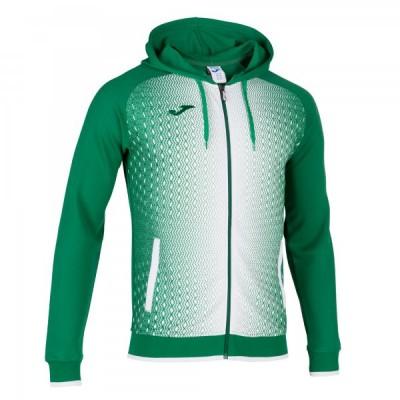 Кофта с капюшоном Joma SUPERNOVA 101285.452 зеленая с белым