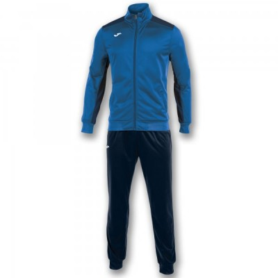 Спортивный костюм Joma ACADEMY 101096.703 синий с темно-синими брюками