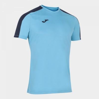 Футболка игровая Joma бирюзовая с темно-синими вставками ACADEMY 101656.013