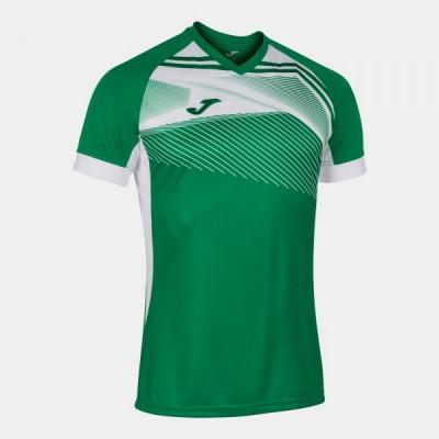 Футболка игровая Joma зеленая с белыми вставками SUPERNOVA II 101604.452