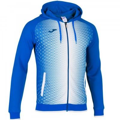 Кофта с капюшоном Joma SUPERNOVA 101285.702 синяя с белым