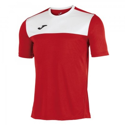 Футболка игровая Joma красная с белыми вставками WINNER 100946.602