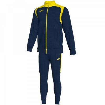 Спортивный костюм Joma CHAMPION V 101267.339 темно-синяя кофта с желтыми вставками и темно-синие брюки