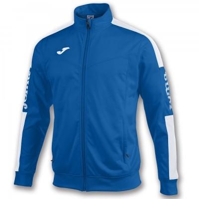 Спортивная кофта Joma CHAMPION IV 100687.702 синяя с контрастными белыми вставками
