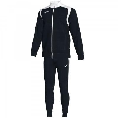 Спортивный костюм Joma CHAMPION V 101267.102 черная кофта с белыми вставками и черные брюки
