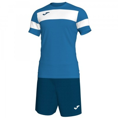 Комплект игровой Joma синяя футболка с темно-синими шортами, модель ACADEMY II 101349.702