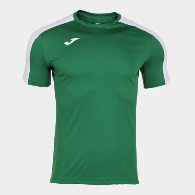 Футболка игровая Joma зеленая с белыми вставками ACADEMY 101656.452