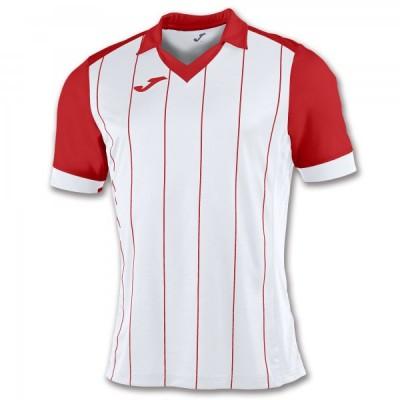 Футболка игровая Joma с белыми и красными полосками GRADA 100680.206