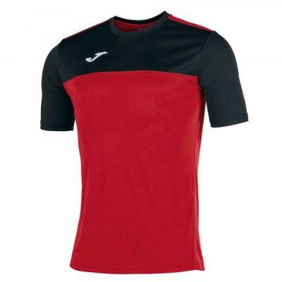 Футболка игровая Joma красная с черными вставками WINNER 100946.601