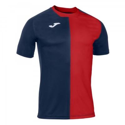 Футболка игровая Joma темно-синяя с красным CITY 101546.336