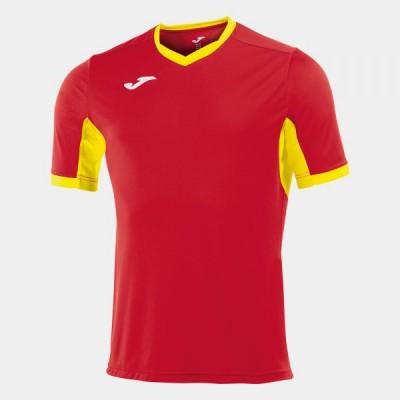 Футболка игровая Joma красная с желтыми вставками CHAMPION IV 100683.609