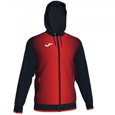 Кофта с капюшоном Joma SUPERNOVA 101285.106 черная с красным