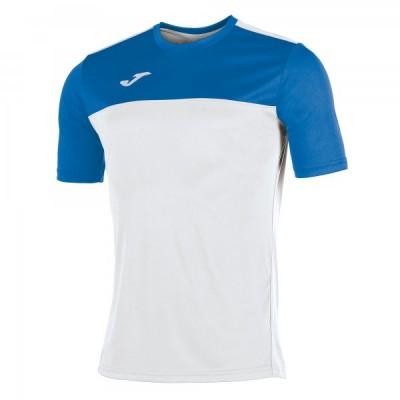 Футболка игровая Joma белая с синими вставками WINNER 100946.207