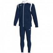 Спортивный костюм Joma CHAMPION V 101267.332 темно-синяя кофта с белыми вставками и темно-синие брюки
