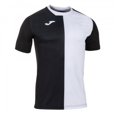 Футболка игровая Joma черная с белым CITY 101546.102