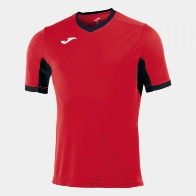 Футболка игровая Joma красная с черными вставками CHAMPION IV 100683.601