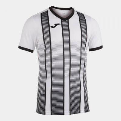 Футболка игровая Joma белая с черным TIGER II 101464.201