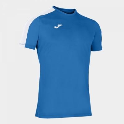 Футболка игровая Joma синяя с белыми вставками ACADEMY 101656.702