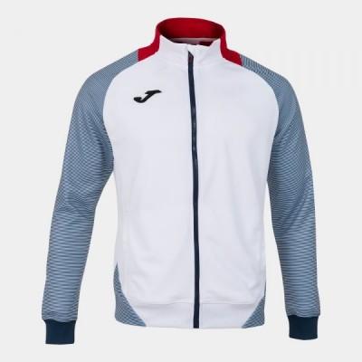 Спортивная кофта Joma ESSENTIAL II 101535.203 белая с темно-синими вставками