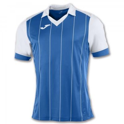 Футболка игровая Joma с синими и белыми полосками GRADA 100680.702
