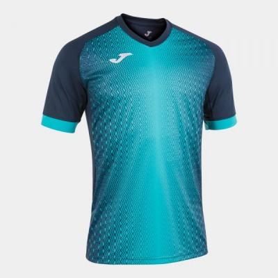 Футболка игровая Joma темно-синяя с бирюзой SUPERNOVA 101284.342
